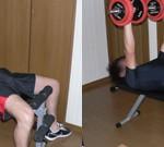 ダンベルベンチプレス-大胸筋を鍛える-