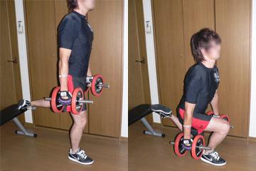 ブルガリアンスクワット-脚を鍛える-