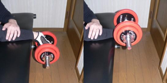 前腕屈筋トレーニング に対する画像結果