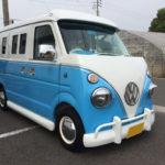 ワーゲンバス(VWバス)仕様、軽自動車をカスタム