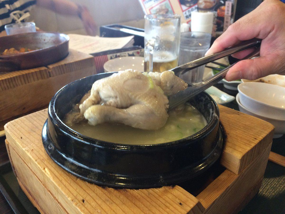 サムゲタン(参鶏湯)の成分カロリー(kcal)